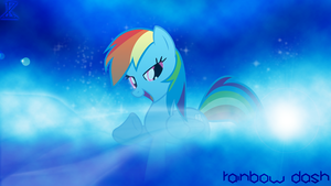 Wallpaper Rainbow Dash by InfernuZ