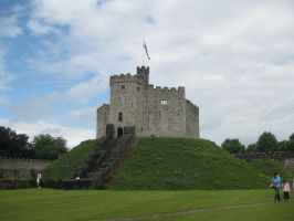 Cardiff Castle 2 by Hrivalasse-stock