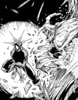 Spidey and the Hobgoblin by JohnPrisk