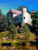 Waldenfels castle, upon the pond by patrickjobst