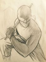 Daredevil Sketch by deralbi