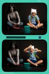 Adventure Time: Sore Losers by HayleyElise