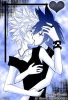 KH: Kiss of Love by RoXas-1988