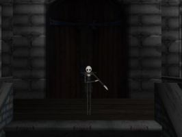 Jack Skellington Welcome by LycheeBerry17
