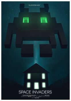 Cover Videogame: Space Invaders by Stachpop