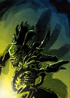Mantis Alien by Canalus