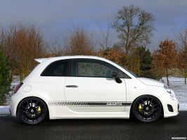 Fiat 500 Abarth slightly tuned by Pisci