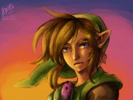 Link (done on Colors for NDS) by Edo--sama