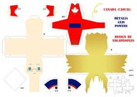 APH - Paperdoll Casual Canada by Yolapeoples