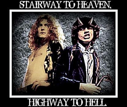 Heaven and Hell RocknRoll by Nevada-Line-Photos