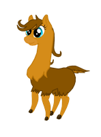 Laura The Lama by AnthracksThePony