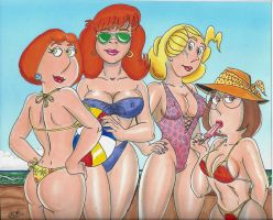 The Girls of Summer by kiff57krocker