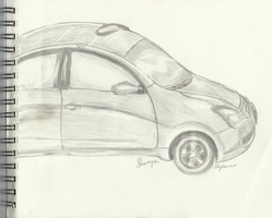 My first attempt at a car by Monanico