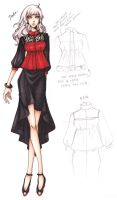 2013 Spring Fashion Show - Deedra Design ILLUST. by ember-snow