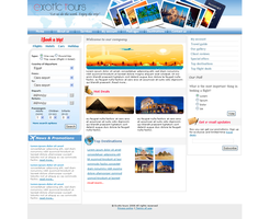 Tourism Co. Template1 by safialex83