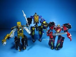 mini Pla Go Busters king Metalic (19) by PlayWithKOR