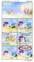 Trixie Consulting Unicorn A Problem In Canterlot 1 by PixelKitties