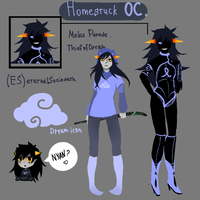 Homestuck OC by Etsu-hime