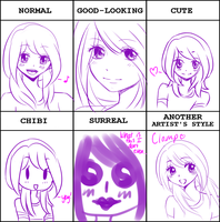 Style Meme by Aria-Melodie