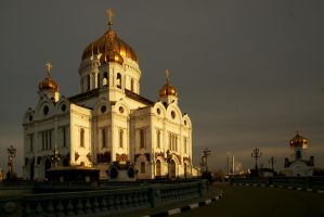 Moscow evening. January. by Nickdan
