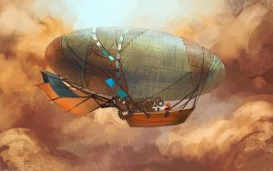 30min Spitpaint : Air Boat by RustyPulley