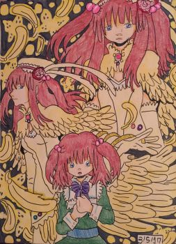 Umineko: Ange, Golden Witch of Ressurection by GhibliLover92