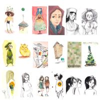 Sketchdump 002 by coifishu
