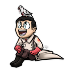 Medic and Archimedes by TheGreatHushpuppy