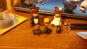 Wedding Cake Toppers by ChickenRaiser95