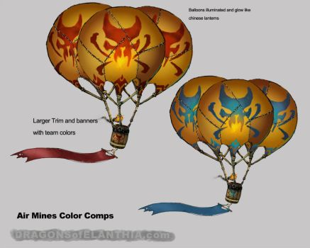 Air Mines Color Comps by Satyrikal