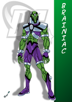 DC Comic's Brainiac by skywarp-2