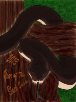 2013 Year of the Black Snake by RedWingedHummingBird