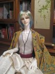 BJD kimono, Cozy Evening with my Gin by InarisansCrafts