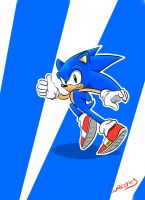 Sonic by warcones