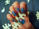 Puzzle Nails by kaylamckay