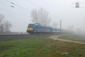 480 021 with passenger train near Gyor by morpheus880223