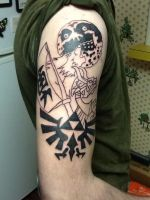 Zelda tattoo! by ChoasisShinigami