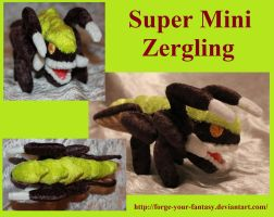Tiny Zergling Plush - Auction - Starcraft II by Forge-Your-Fantasy