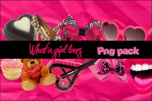 O5O. What a girl loves PNG by rockinghollywood