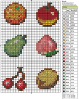 Animal Crossing - Fruit by Makibird-Stitching