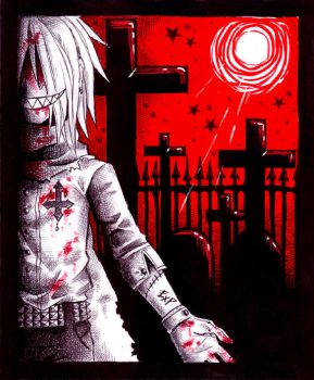 +into the cemetery+ by Jack666rulez