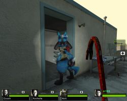 L4D2 Lucario by SSBBaddict