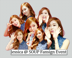 [PNG] Jessica SOUP Fansign Event by SuSimSi