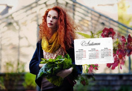 Autumn Belle Lookbook calendar by Elfwampgirl