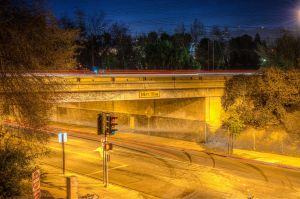Freeway Bridge by mikytrance