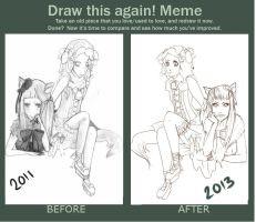 Draw this again meme by adlibber