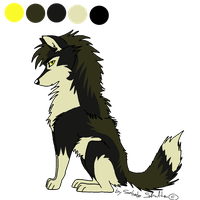 bba wolf character adoptable - CLOSED! by StanHoneyThief