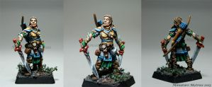 Valeros the Fighter by MiniatureMistress