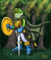 The Heroic Frog by NetRaptor