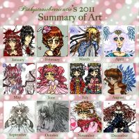 2011 Summary of Art by pinkystrawberricutie